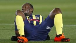 Usain Bolt begräbt den Fußballertraum