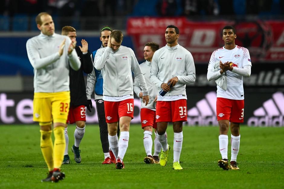 Das war's: RB Leipzig verabschiedet sich aus der Champions League