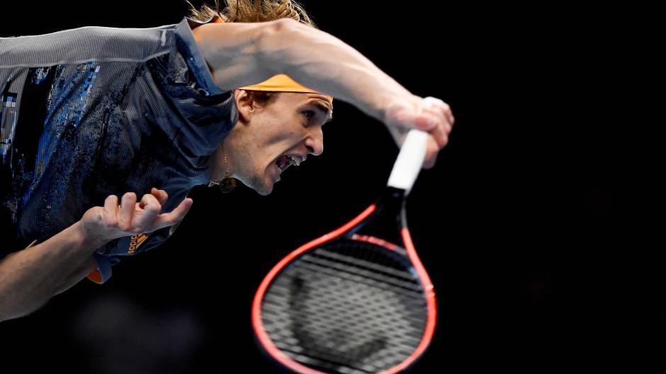 Der Aufschlag hat funktioniert: Alexander Zverev gewinnt gegen Rafael Nadal.