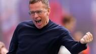 """""""Hat einen Riesenspaß gemacht"""": Ralf Rangnick ist in dieser Saison bei RB Leipzig nochmal als Trainer eingesprungen."""
