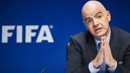Fifa-Präsident Gianni Infantino will den Fußball in die Zukunft führen.