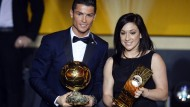 Cristiano Ronaldo und Nadine Keßler sind die Weltfußballer des Jahres 2014