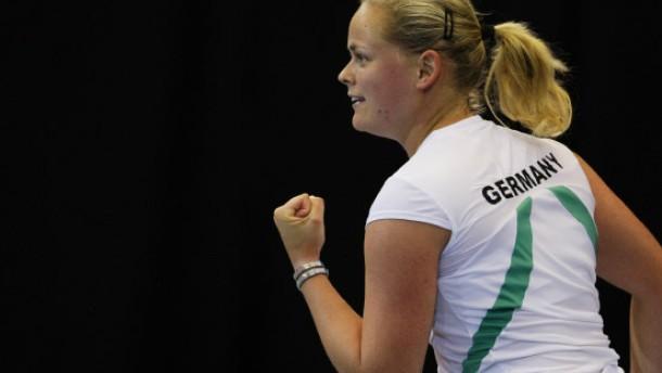 Fed-Cup-Damen gewinnen in der Schweiz