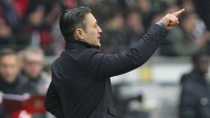 Fingerzeig: Niko Kovac würde gerne in Frankfurt bleiben