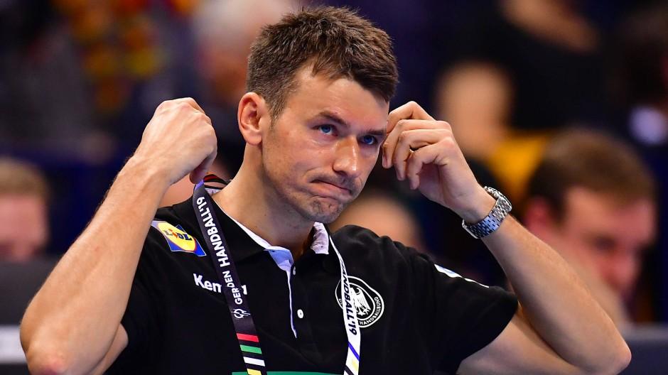Am Ende einer langen Saison: Handballtrainer Prokop