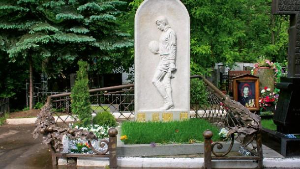 """""""Das wunderschöne Grab von Lew Jaschin"""""""