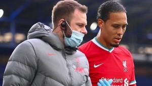 Liverpool und das Rätsel um van Dijks Verletzung