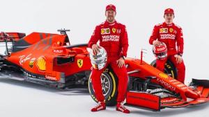 Die Formel 1 sieht Rot
