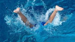 Kopflos im Wasser