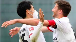 So gelang Eintracht Frankfurt der Befreiungsschlag