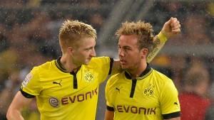 Schweres Los für Dortmund
