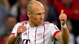 Robben unterschreibt neuen Vertrag bei den Bayern