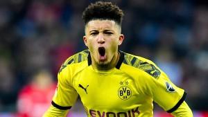 Dortmunder Balanceakt mit Sancho