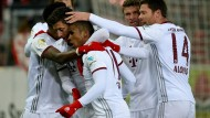 Bayerns eisige Herbstmeisterschaft