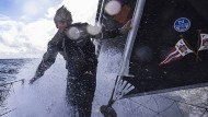 Das Ziel ist nahe: Boris Herrmann bei der Vendée Globe