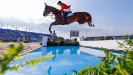 Deutsche Springreiter vorerst auf WM-Platz drei