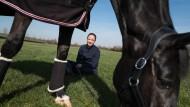 Die Olympiasiegerin und ein Pferd: Isabell Werth mit der Stute Weihegold