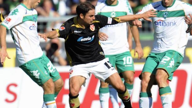 Werder siegt mit Diego und Geduld