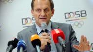 Bezieht Stellung: DOSB-Präsident Alfons Hörmann