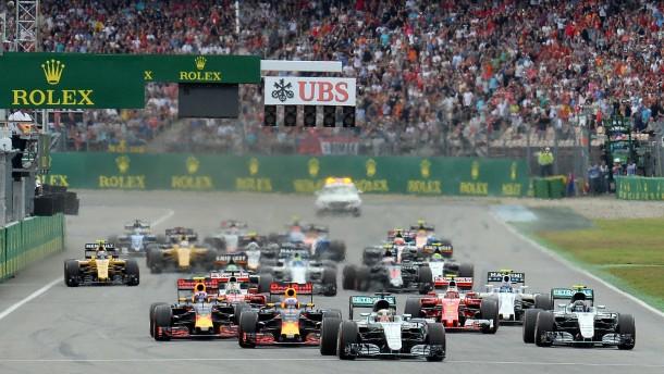 Formel-1-Kalender für Saison 2017