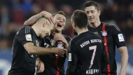 Bayern kürt sich mit Gala zum Herbstmeister