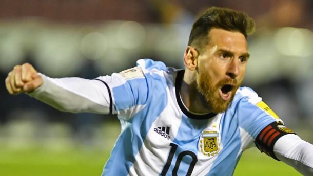 Messi ist der große Retter Argentiniens