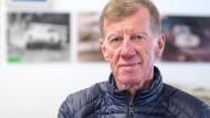 Kein Museumsstück: Motorsport-Legende Walter Röhrl ist auch mit 70 noch ständig in Bewegung.