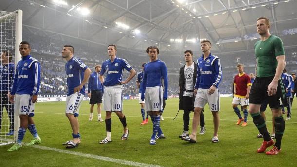Auf Schalke gibt's für alle Gegenwind