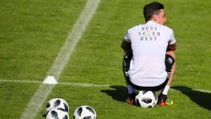 Özil verpasst die WM-Generalprobe