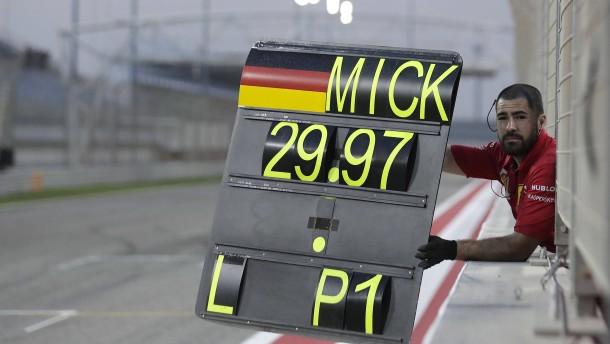 Mick Schumacher dreht die Zeit zurück