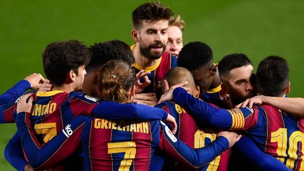 FC Barcelona nach verrücktem Spiel im Finale
