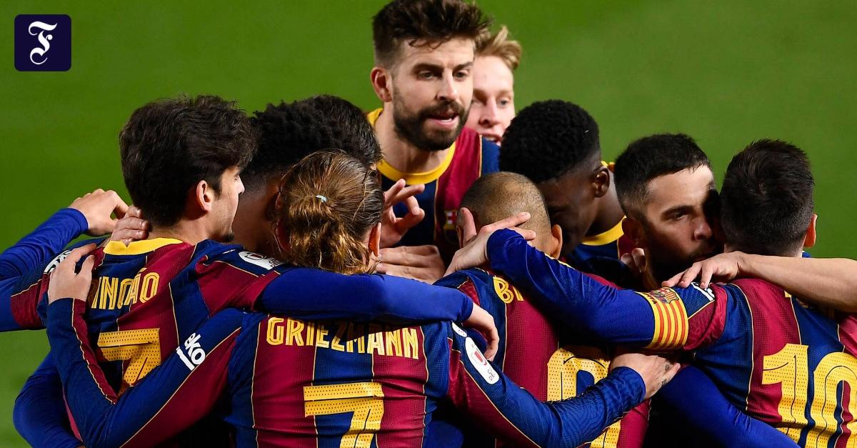 FC Barcelona nach verrücktem Spiel im Finale - FAZ - Frankfurter Allgemeine Zeitung