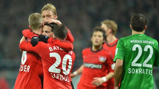 Leverkusen ist wieder Vizekusen