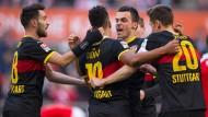 Befreiung für Stuttgart: In Köln gelingt ein Auswärtssieg.