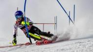 Der Stangenwald ist ihr Revier: Mikaela Shiffrin fährt besser Slalom als jede andere jemals zuvor