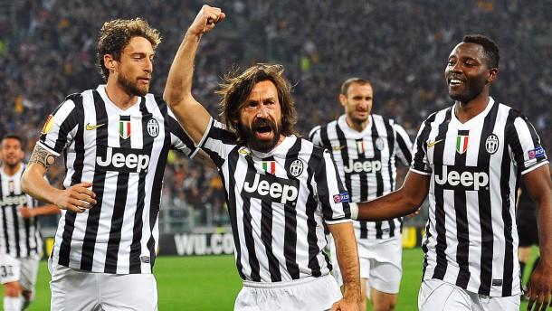 Juventus im Halbfinale