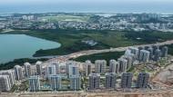 Das Olympische Dorf in Rio de Janeiro ist drei Monate vor den Spielen noch nicht fertig gestellt.