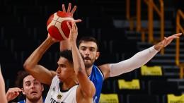 Deutsche Basketballer verlieren gegen Italien