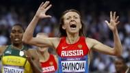 Weltverband suspendiert Russlands Leichtathleten
