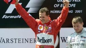 Michael Schumacher siegt auf dem Nürburgring