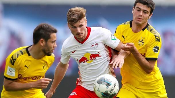 Auch Timo Werner kann den BVB nicht stoppen