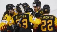 Deutschland startete erfolgreich mit zwei Siegen in die Eishockey-WM.
