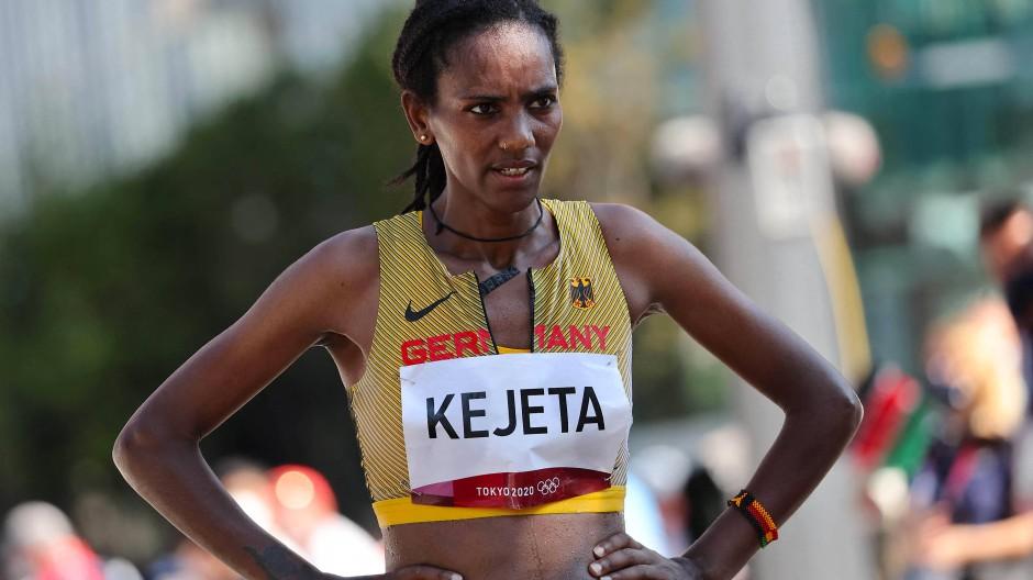 Kein Grund zur Traurigkeit: Platz sechs bei Olympia für Melat Kejeta