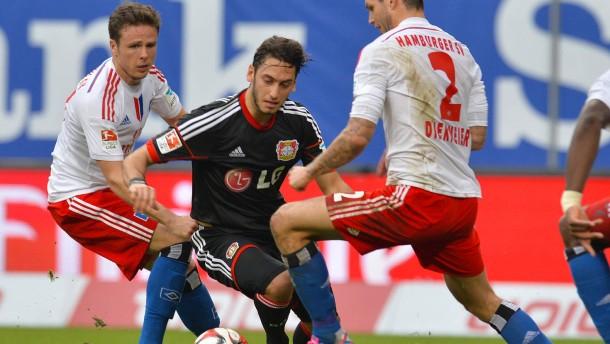 Leverkusen findet den Weg ins Tor nicht