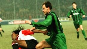Thomas Eichin spielte einst bei Borussia Mönchengladbach (Foto rechts) und dem 1. FC Nürnberg