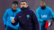 Trainer in Barcelona: Ernesto Valverde