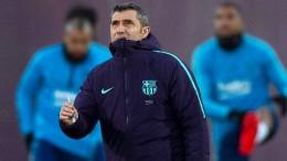 Valverde auch ohne Messi zuversichtlich
