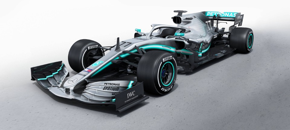 Formel 1 2019 Autos