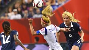 Deutschland trifft im Viertelfinale auf Frankreich