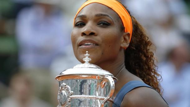 Serena Williams' Heimsieg in der Ferne